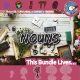 Nouns -- Parts of Speech -- English Language Arts Unit Bundle