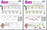 Nouns (People, Places, Things) Test