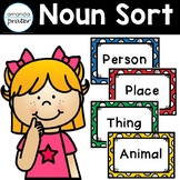 Nouns: Person, Place, Thing, or Animal Sort
