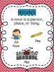Nouns-Person, Place, or Thing