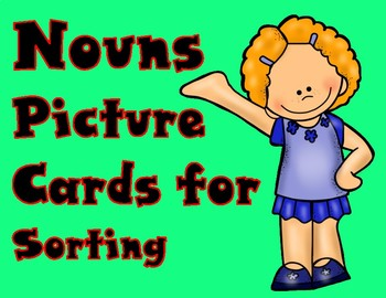 Nouns Picture Cards for Centers
