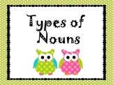 Nouns Posters ( Proper, Concrete, Abstract)