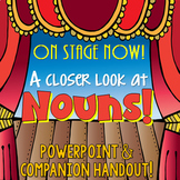 Nouns PowerPoint: Advanced version (tangible vs intangible, common vs proper)