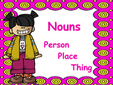 Nouns: PowerPoint & Worksheets