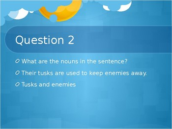 Nouns Powerpoint Review