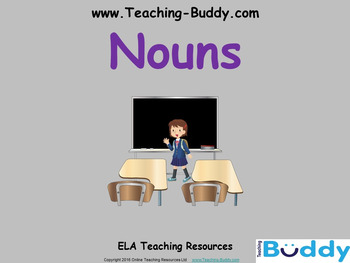 Nouns Powerpoint Teaching Resource