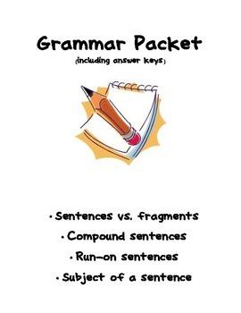 Practice Correcting Sentences in Grammar