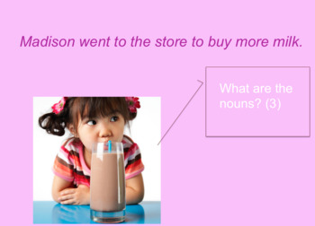 Nouns Presentation + Activities