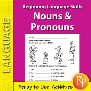Nouns & Pronouns: Beginning Language Skills