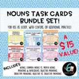 Nouns & Pronouns Task Card Bundle!
