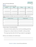 Nouns & Pronouns Workbook