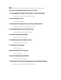 Nouns / Proper Nouns Worksheet
