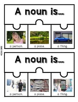 Nouns Puzzle {Nonfiction Person, Place & Thing}