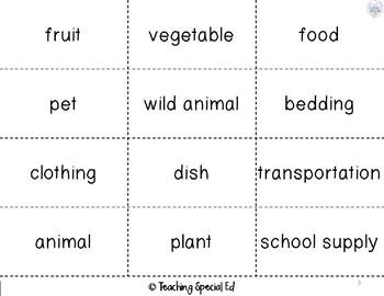 Nouns Reading & Writing Worksheets - GROWING BUNDLE