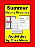 Summer Nouns Task Cards