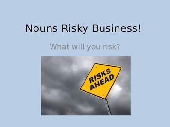 Nouns Risky Business Game
