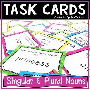 Nouns!  Task Cards!