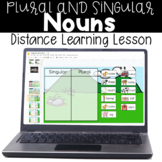 Nouns - Singular and Plural Nouns - Distance Learning