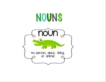 Nouns SmartNotebook Slideshow
