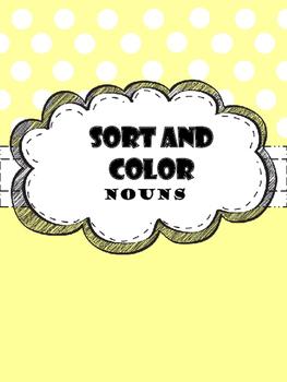 Nouns (Sort & Color)