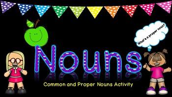 Nouns Sorting Activity
