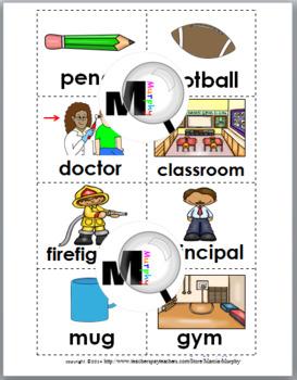 Nouns Sort - Set 2 - Noun Activity (Parts of Speech)