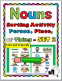 Nouns Sort - Set 2 - Noun Activity