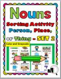 Nouns Picture Sort - Set 2 - Noun Activity