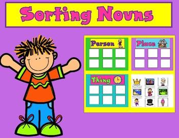 Nouns Sorting Center