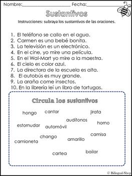 Nouns Spanish