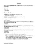 Nouns Study Guide