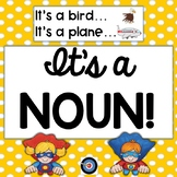 Nouns: Superhero Tab book, Games, and Posters