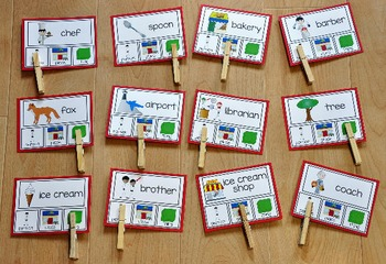 Nouns Task Cards