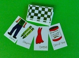 Nouns:  Teaching names of common objects and their attributes