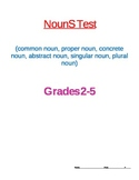 Nouns Test