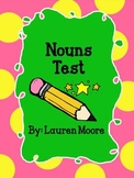 Nouns Test (Grades 1-3)
