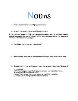 Nouns: The Common Core Way