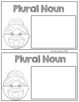 Nouns:  There was an Old Lady Who Swallowed Some Nouns {FREEBIE}