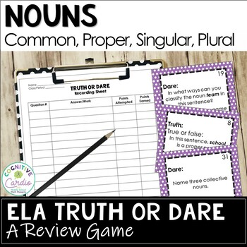Nouns Truth or Dare Review Game