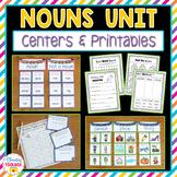 Nouns Unit (Kindergarten-2nd Grade)