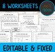 Nouns Unit: PowerPoint, Worksheets, Tests, Answer Key | Parts of Speech No Prep!