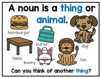 Nouns Unit for K-2
