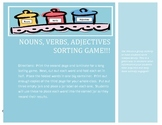 Nouns, Verbs, Adjective Sorting Game