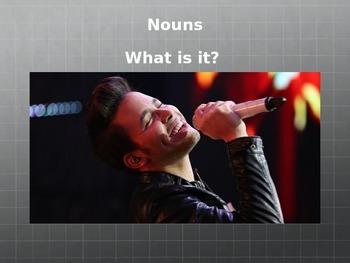Nouns, Verbs, Adjectives