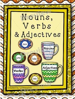 Nouns, Verbs & Adjectives