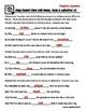 Nouns, Verbs & Adjectives ( A Context Clues Activity)