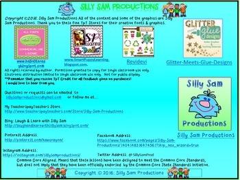 Nouns, Verbs & Adjectives ALL YEAR BUNDLE Literacy Activities!