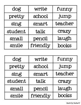 Nouns, Verbs & Adjectives *FREEBIE*