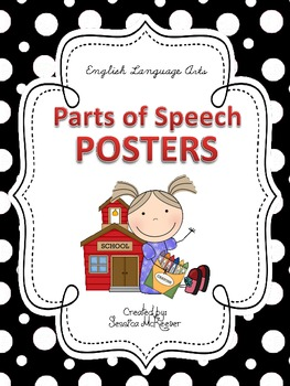 Nouns, Verbs, Adjectives, & MORE: Parts of Speech Posters