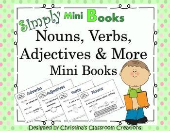 Parts of Speech Activities (Nouns, Verbs, Adjectives): Sim